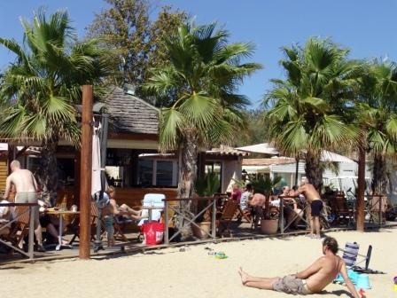 Mobile home caravan camping port grimaud st tropez french - Cote d azur holidays camping port grimaud ...